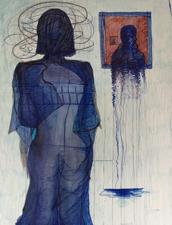 Transitionary 4 120 x 90 mixed media on canvas
