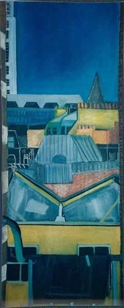 Skyline Oil on Canvas 120 x 50cm